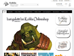 Kohlis Onlineshop